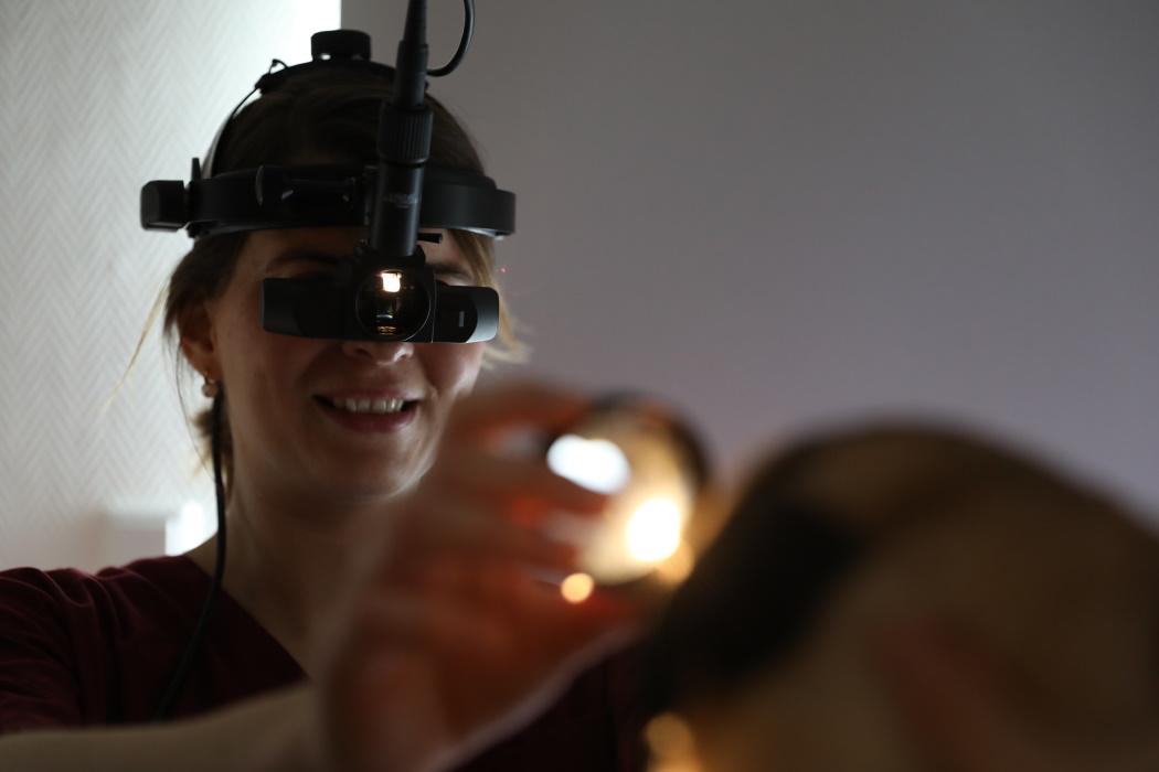 Untersuchung des Augenhintergrundes (Ophthalmoskopie)